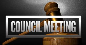 Council Meeting - Virtual Meetings until further notice
