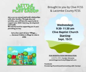 Little Village Playgroup @ Clive Baptist Church
